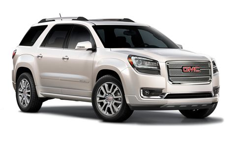 2013 Gmc Acadia Denali Awd 4dr Features And Specs
