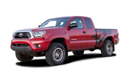 2013 Toyota Tacoma Features And Specs Car And Driver