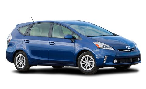2013 Toyota Prius V Five 5dr Wgn Natl Features And Specs