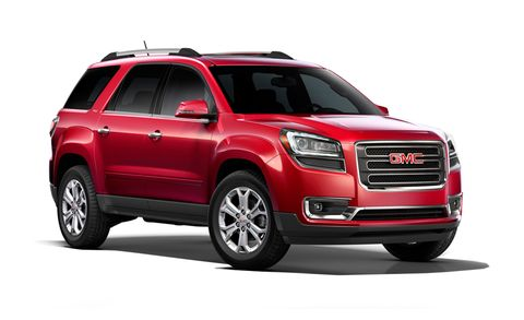 2014 Gmc Acadia Denali Awd 4dr Features And Specs
