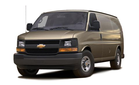 Chevrolet Express Features And Specs