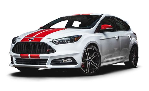 2016 ford focus st st 5dr hb features