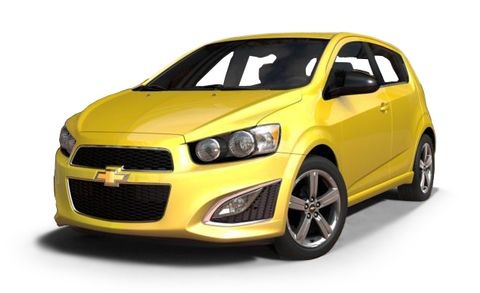 2016 Chevrolet Sonic Rs 5dr Hb Features And Specs