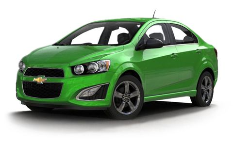 2016 Chevrolet Sonic Rs 4dr Sdn Features And Specs