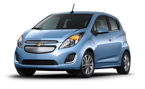 Chevrolet Spark Ev Features And Specs