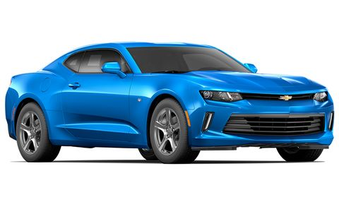 2017 Chevrolet Camaro 1ls 2dr Cpe Features And Specs