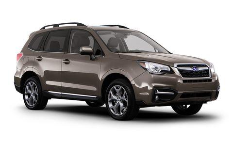 2017 Subaru Forester 2 5i Cvt Features