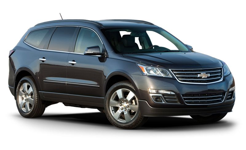 2017 Chevrolet Traverse Features And Specs Car And Driver
