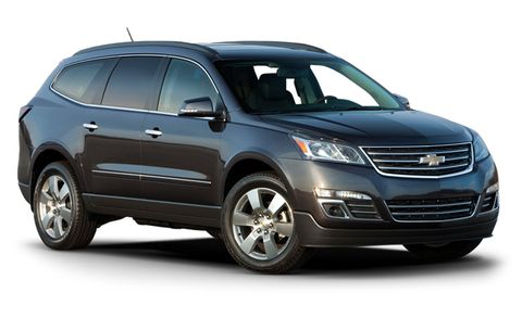 2017 Chevrolet Traverse Premier Awd 4dr Features And Specs