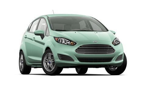 2018 Ford Fiesta Titanium Hatch Features And Specs