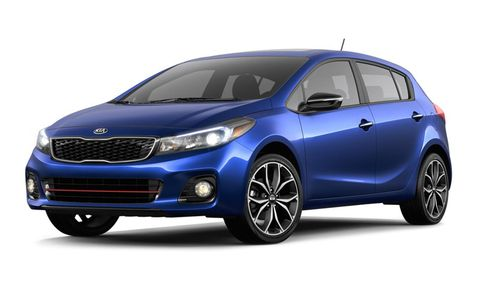 2017 Kia Forte Sx Manual Features And Specs