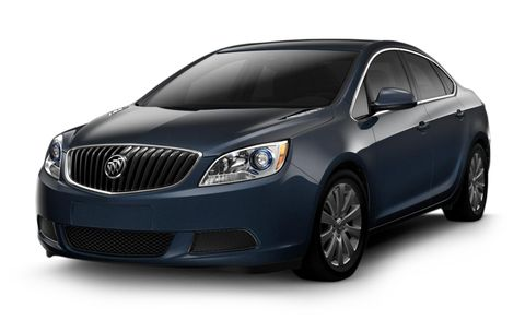 Buick Verano Features And Specs