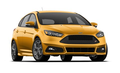 2017 Ford Focus St St Hatch Features And Specs