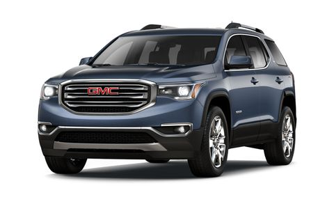 2018 Gmc Acadia Denali Awd 4dr Features And Specs