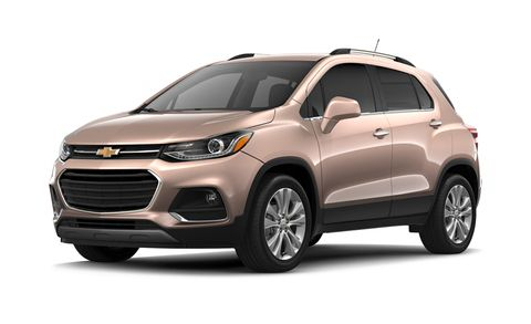 2018 Chevrolet Trax Premier Awd 4dr Features And Specs