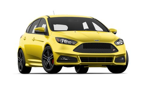 Ford Focus St Features And Specs