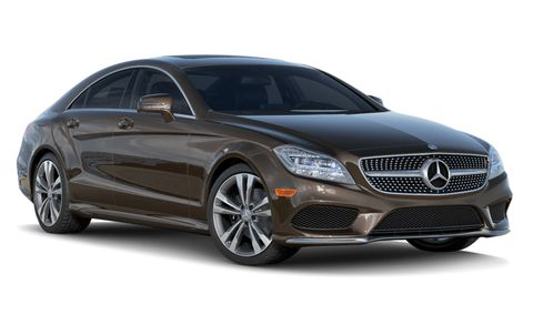 2018 Mercedes Benz Cls Class Cls 550 4matic Coupe Features And Specs