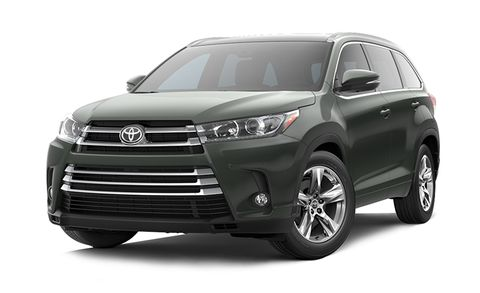 2018 Toyota Highlander Le Plus V6 Awd Natl Features And Specs