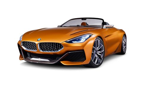 Bmw Z4 Features And Specs Car And Driver