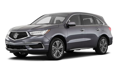 Acura Mdx Features And Specs