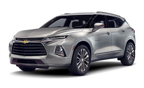 Chevrolet Blazer Features And Specs