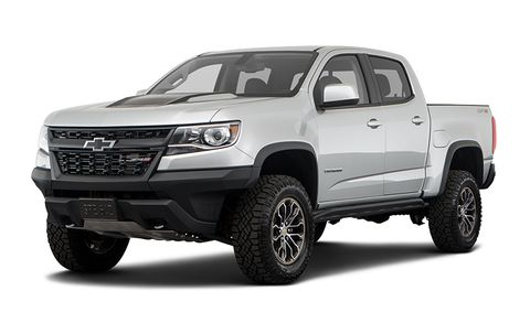 2020 Chevrolet Colorado 4wd Zr2 Ext Cab 128 Features And Specs