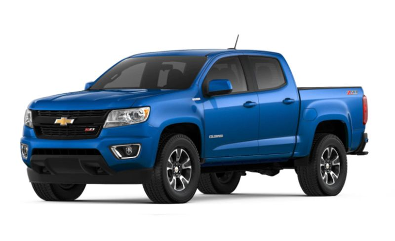 2019 Chevrolet Colorado Features And Specs Car And Driver