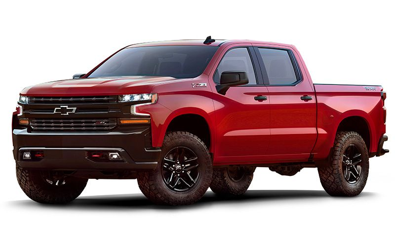 2019 Silverado 1500 Crew Cab Short Box 2 Wheel Drive Custom