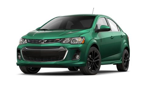 Chevrolet Sonic Features And Specs