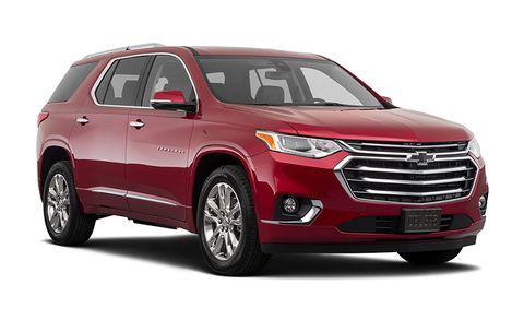 Chevrolet Traverse Features And Specs