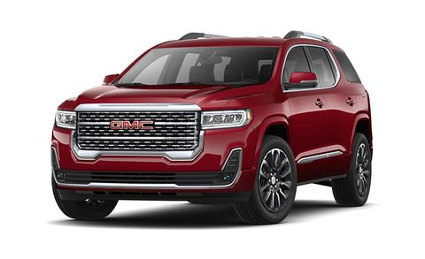Gmc Acadia Features And Specs
