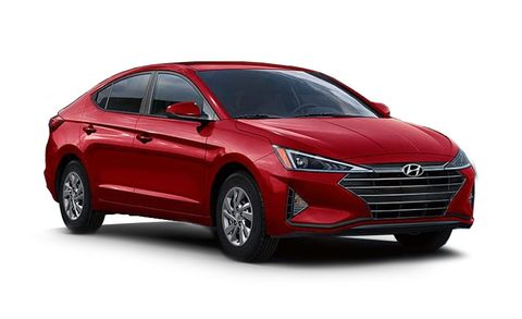 Hyundai Elantra Features And Specs