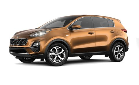Kia Sportage Features And Specs