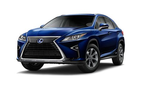 2020 Lexus Rx Rx 450h F Sport Performance Awd Features And Specs