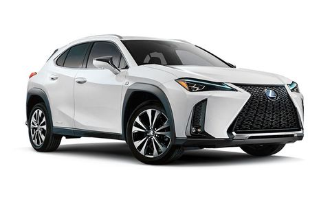 2020 Lexus Ux Ux 250h Luxury Awd Features And Specs