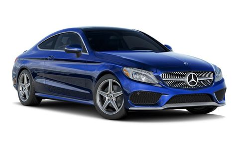 2019 Mercedes Benz C Class C 300 4matic Coupe Features And Specs