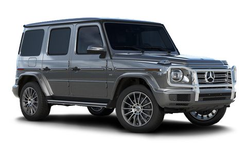 Mercedes Benz G Class Features And Specs