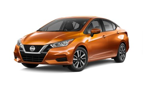 Nissan Versa Features And Specs