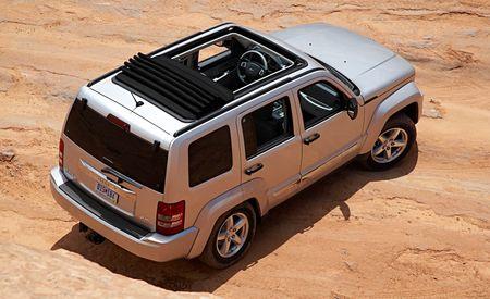 2008 Jeep Liberty: Sky Slider Two-Row Sunroof