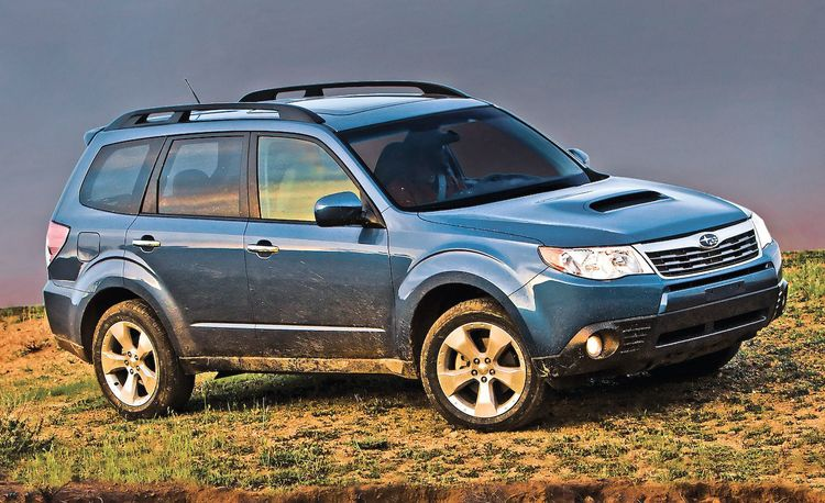 2009 Subaru Forester: Stop Whining!