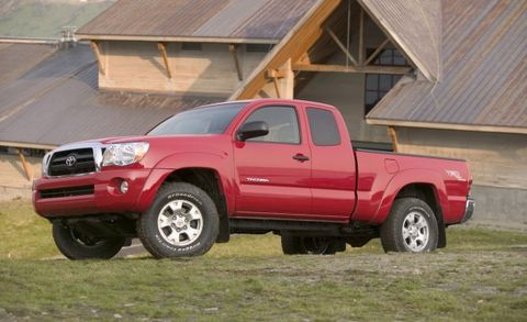 toyota recalls 690 000 tacoma pickups for snapping leaf springs news car and driver. Black Bedroom Furniture Sets. Home Design Ideas