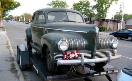 Our Cruisers: 1941 Nash 600 Special Fastback Sedan
