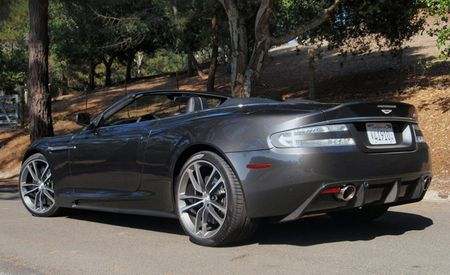 2010 Aston Martin DBS Volante: Stereo Included . . . and Completely Unnecessary