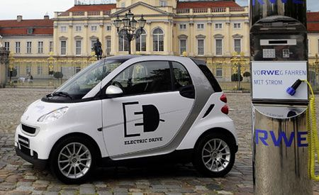 Smart Announces Specs for Fortwo Electric Drive