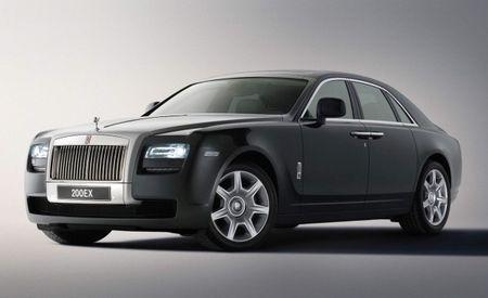 2010 Rolls-Royce Ghost Video Leaked