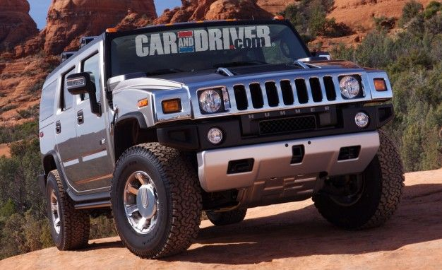 Hummer and Car and Driver Collaborate on the CARandDRIVER.com Limited Edition Hummer H2
