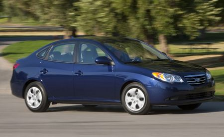 2010 Hyundai Elantra Blue: 35 mpg, $14,865