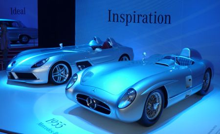 Original 300SLR Makes SLR Stirling Moss Look Especially Terrible