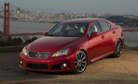 Lexus IS F Gets <i>Real</i> Limited-Slip Diff, New Wheels for 2010