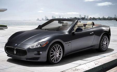 Maserati GranCabrio Re-Dubbed GranTurismo Convertible for U.S.